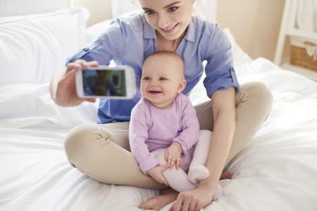 Selfie Madre E Hijo