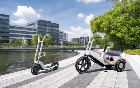 """BMW presenta una bicicleta eléctrica de carga y un patinete eléctrico """"que cabe en el maletero de un MINI"""""""