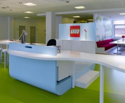 Espacios para trabajar: oficinas de Lego en Dinamarca