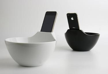 Bol para sopa y iPhone. Regalo de San Valentín para tu pareja geek