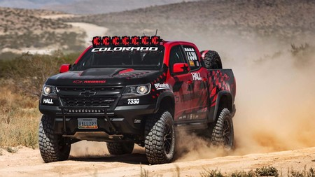 Hall Racing y su Chevrolet Colorado ZR2, listos para cruzar Nevada campo a través