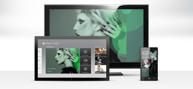 Xbox Music, la nueva plataforma de música por streaming de Microsoft