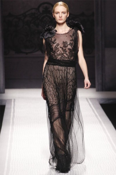 Alberta Ferretti Otoño-Invierno 2012/2013: soy romántica y soñadora