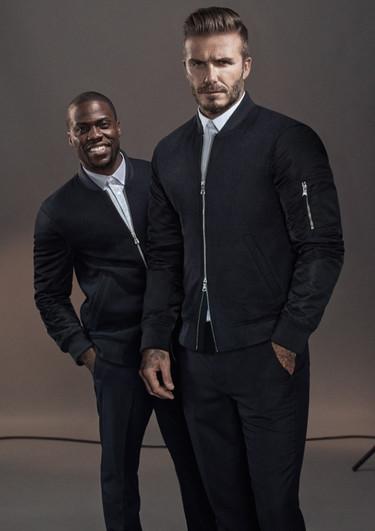 David Beckham y Kevin Hart interpretan al alimón la nueva campaña de H&M Modern Essentials 2015