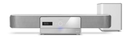 Philips HTS8161b, nueva barra de sonido con reproductor Blu-Ray