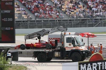 Ferrari se sume en la crisis