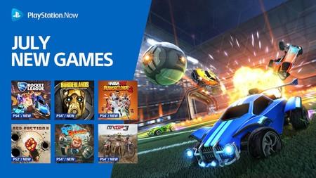 Rocket League, Borderlands: una Colección muy Guapa y otros diez juegos más se unirán a PlayStation Now en julio