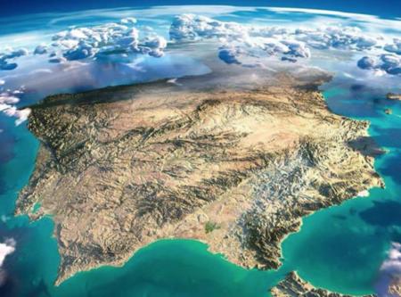 relieve de la peninsula iberica