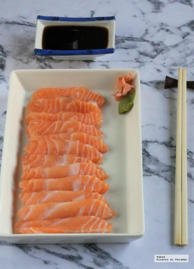 Corte Sashimi Como Hacer