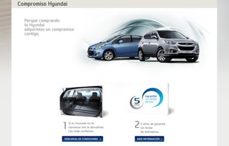 Compromiso Hyundai devolución coche