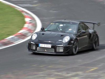 ¡Sube el volumen! Ahora puedes ver y escuchar el Porsche 911 GT2 RS haciendo ejercicio en Nürburgring