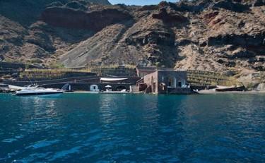 Rumbo a la Atlántida, Hotel Perivolos Hideaway en Santorini