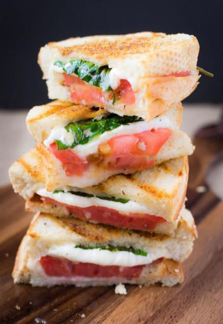 receta de panini Margarita