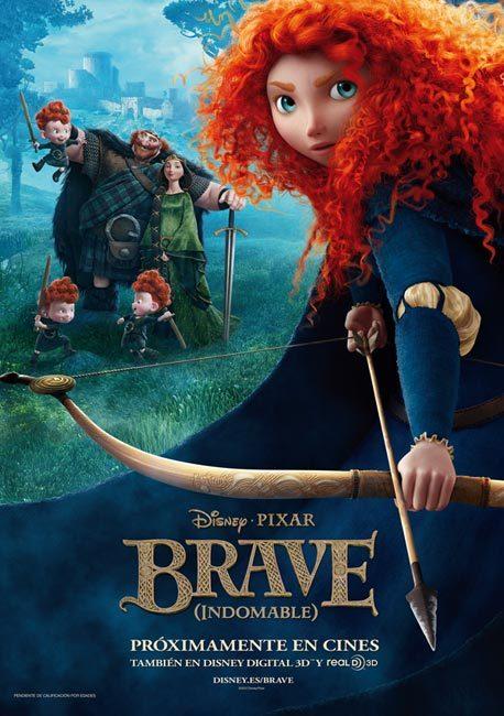 Foto de 'Brave (Indomable)', carteles (7/7)