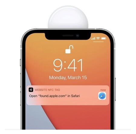 Apple Airtag Encontrado