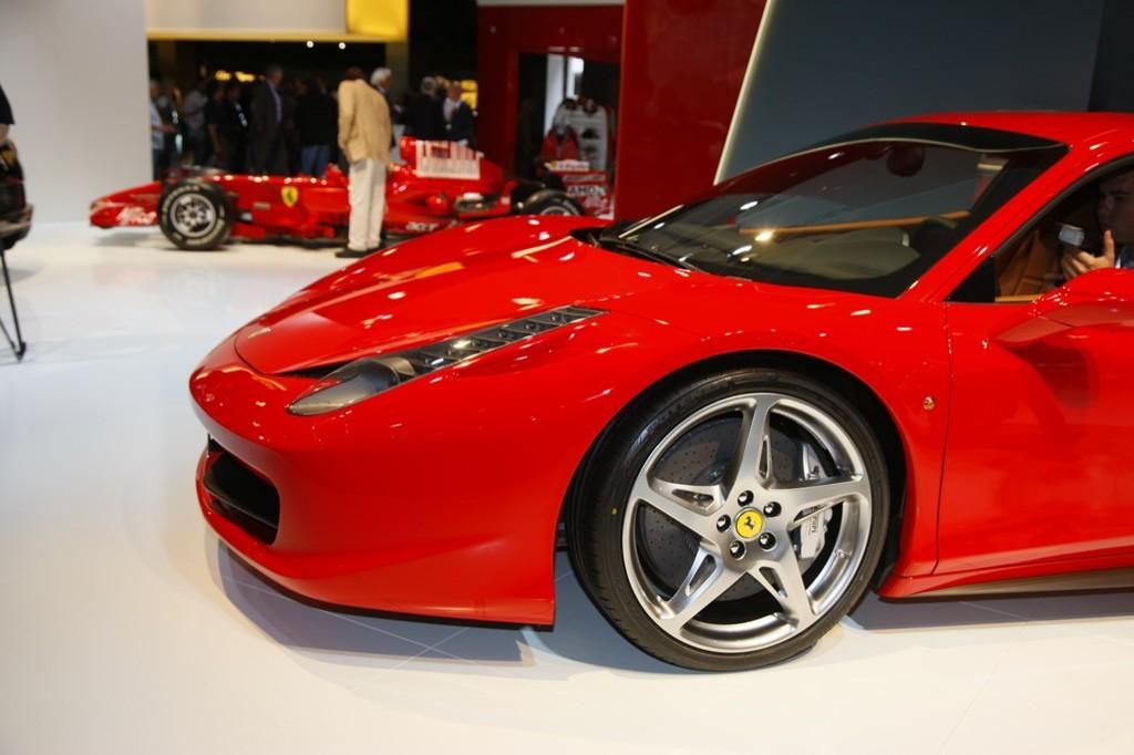 Foto de Ferrari 458 Italia en el Salón de Fráncfort 2009 (3/5)