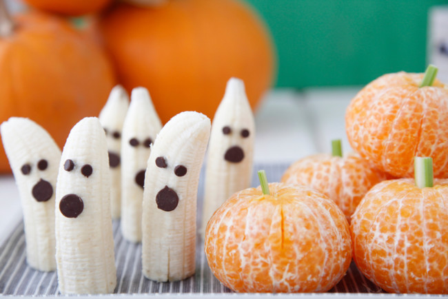 Tangerine Pumpkins And Banana Ghosts 2