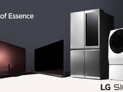LG quiere que el lujo llegue a los electrodomésticos del hogar con su línea Signature