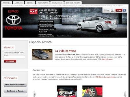 Os presentamos el Espacio Toyota en Motorpasión
