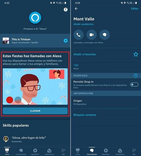 Llamadas Videollamadas Gratis Amazon Echo Alexa Mexico