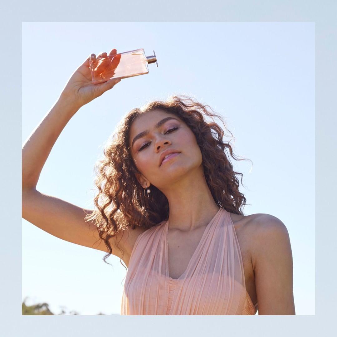 lancome perfume mujer foto modelo
