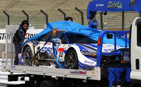 Honda Nakajima Racing #32 Test Suzuka 2014