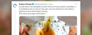 Decirle a España cómo hacer un huevo para ahorrar luz es una mala idea. Endesa lo acaba de descubrir