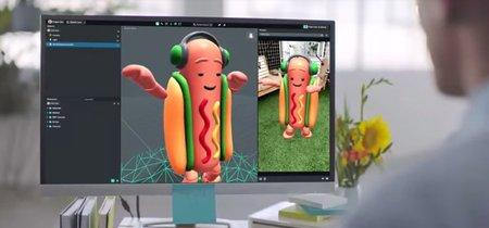 Crea experiencias de realidad aumentada para Snapchat con la aplicación Lens Studio, disponible para PC y Mac
