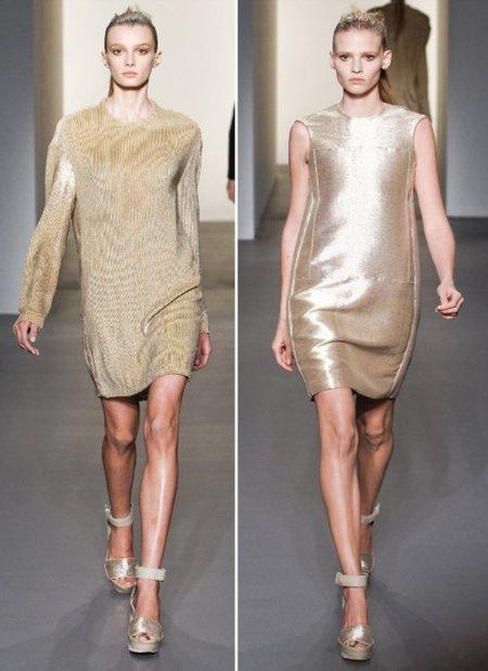 Calvin Klein dorado