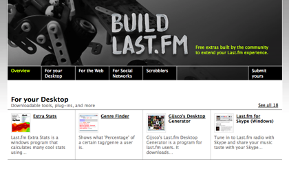 Last.FM lanza Build Last.FM, con la música a todas partes