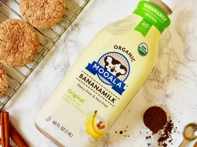 Leche de plátano: la última alternativa sin lácteos deliciosa y saludable