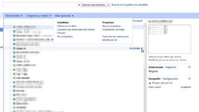 Google docs mejora su interfaz para listar los documentos