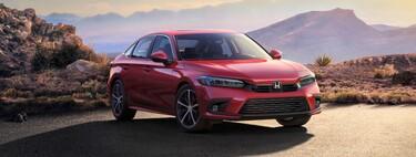 Honda Civic 2022: un adelanto oficial previo al lanzamiento con un look que casi no cambió respecto al concepto