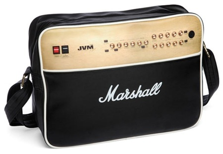La bandolera Marshall para guardar también tu portátil