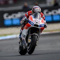 """Andrea Dovizioso se marcha de Assen como líder de MotoGP: """"Es una sensación nueva para mí"""""""
