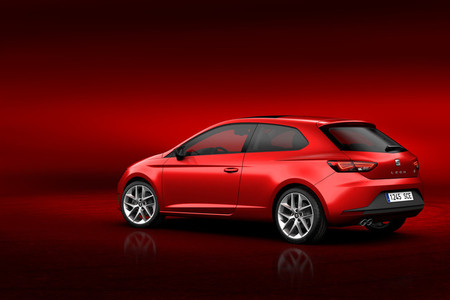 Seat leon coupe lateral