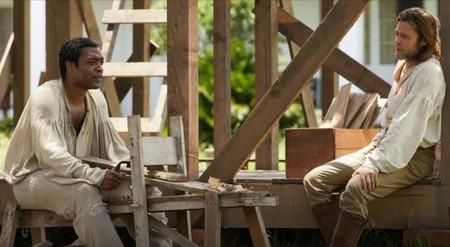 Ejiofor y Brad Pitt