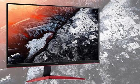 Un monitor gaming como el Acer KG251QJbmidpx cuesta mucho menos en Amazon ahora que lo tienen rebajado a 179,99 euros