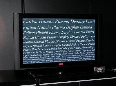 Pantalla HDTV de plasma más pequeña del mundo