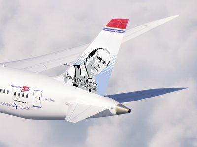 Paco de Lucía y Joan Miró protagonistas de cuatro aviones de Norwegian