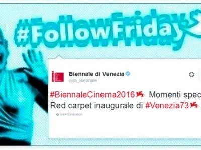 #FollowFriday de Poprosa: Queda inaugurado el Festival de Venecia