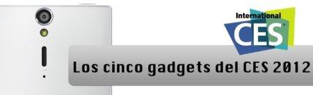 Los cinco gadgets del CES 2012