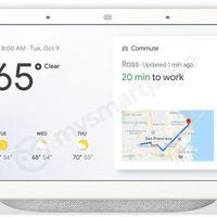 Google Home Hub: este podría ser el altavoz con pantalla de Google para competir con el Amazon Echo Show
