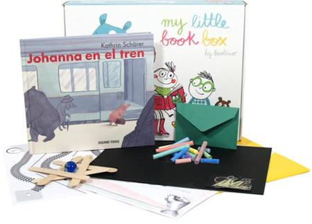 """""""Johanna en el tren"""": nueva My Little Book Box para niños de más de seis años"""