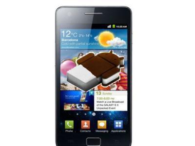 Ice Cream Sandwich llega hoy para el Samsung Galaxy SII