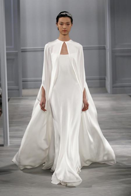 Monique Lhuillier moda novias 2014