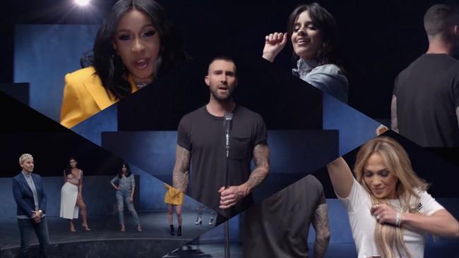 La canción más girlpower la trae Maroon 5, Cardi B y las mil y una mujeres más molonas del momento