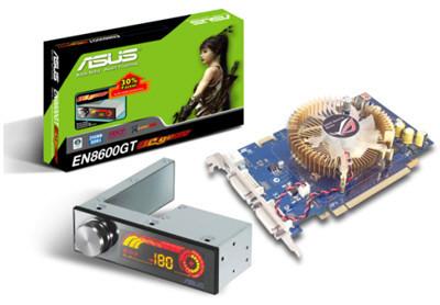 Asus EN8600GT OC GEAR, tarjeta con módulo para overclocking