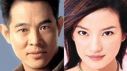 Jet Li y Vicky Zhao en la película sobre Tekken
