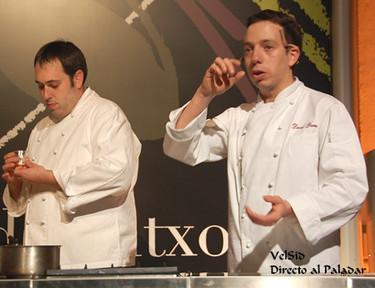 d'Pintxos, sesiones magistrales de David Yárnoz y Dani López